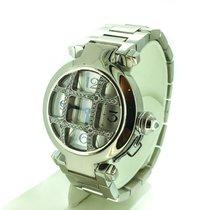 Cartier Pasha White Gold - Diamond Grille