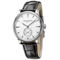 Arnold & Son HMS1 Stainless Steel White Dial