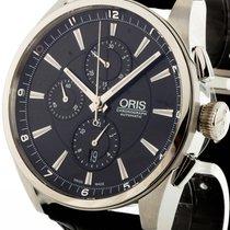 Oris Artix Chronograph Automatik Stahl an Krokolederband Ref....
