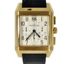 Jaeger-LeCoultre Reverso Squadra Chronograph GMT Rose Gold...