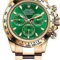 Rolex Daytona Yellow Gold Green Dial