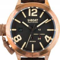 U-Boat Classico 45 Bronzo A BR Bronze Automatik Armband Leder...