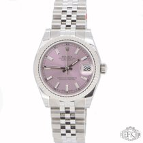 Rolex Mid-Size DateJust | Pink Index Dial  Steel Jubilee |178274