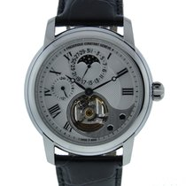 Frederique Constant Manufacture Heart Beat Stainless Steel On...