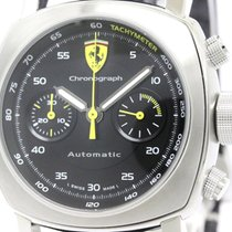 Panerai Polished  Ferrari Scuderia Chorograph Automatic Watch...