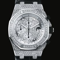 Audemars Piguet Royal Oak Diamond Offshore White Gold Ref....