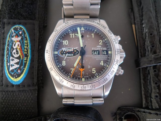 Fortis Cosmonauts Chronograph Lemania 5100