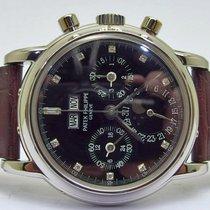 Patek Philippe rare 3970 platinum Chronograph & Perpetual...