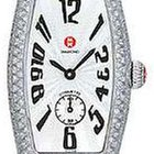 Michele Coquette Pave Diamond Light Pink Ladies Watch