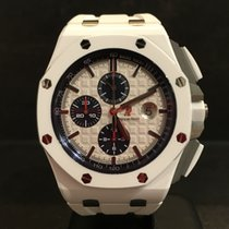 Audemars Piguet Royal Oak 44mm Offshore White Ceramic -...