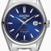 Roamer Searock Blau 10 ATM Wasserdicht Sichtboden Preis VB