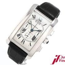 Cartier Tank Américaine Chronograph 18K Weißgold - aus 2008