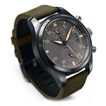IWC [NEW] Pilots Anthracite Dial Chronograph Ceramic &...
