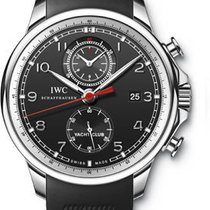 IWC Portuguese Yacht Club Chronograph - Stainless Steel IW390210