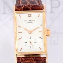 Patek Philippe 18K Roségold Rectangular Pink Gold very rar...