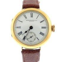 Patek Philippe 18k Yellow Gold Round Mechanical Wrist Watch w/...