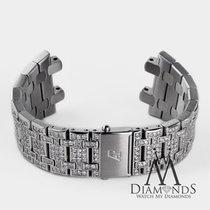 Audemars Piguet Diamond Bracelet For  Royal Oak Offshore 10 Ct...