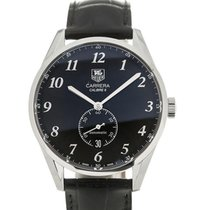 TAG Heuer Carrera 39 Automatic Black Dial Leather Calibre 6