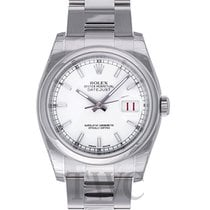 Rolex Datejust Steel White/Steel Ø36 mm - 116200
