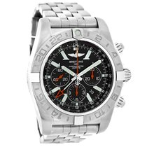 Breitling Chronomat GMT Mens Swiss Automatic Chronograph Watch...