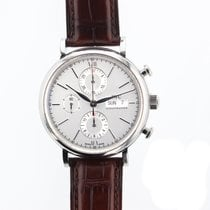 IWC Portofino Chronograph Automatic Chrono Day Date Mens watch...
