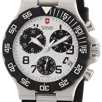 Victorinox Swiss Army Summit XLT Chronograph Black Rubber Mens...