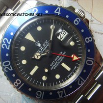 Rolex 1978 IMPORTANT BLUEBERRY NAVY GMT 1675 RADIAL  BOX PAPERS