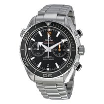 Omega Seamaster Planet Ocean Chronograph Automatic Stainless...