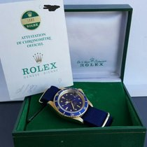 Rolex Perfect Submariner purple dial 1680 Gold 18K Box &...