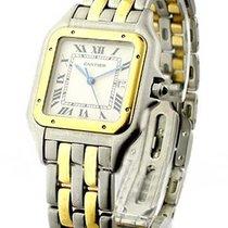 Cartier Panther 2-Tone Jumbo Size - 2-Row Gold Bracelet - Very...