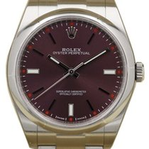 Rolex Oyster Perpetual 114300-RDGSO 39mm Red Grape Index Domed...