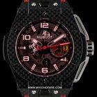 Hublot Carbon Fiber Big Bang Ferrari Ltd Edition B&P...