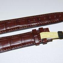 IWC CROCO Lederband,Braun 20/18 mm