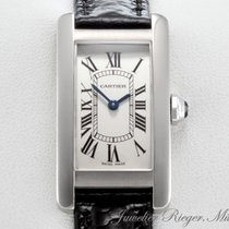Cartier LADY TANK AMERICAINE WEISSGOLD 750