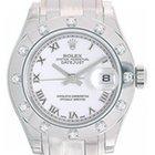 Rolex Ladies Rolex Masterpiece/Pearlmaster Watch 80319 White Dial