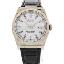 Rolex Men's Rolex Datejust 18K White Gold 116139