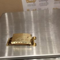 Rolex Vintage  18 k gold  Rolex clasp  with top & bottom...