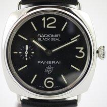 Panerai Radiomir Black Seal Logo PAM380 mit Box & Papieren