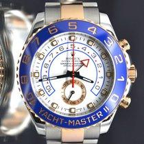 Rolex YACHT-MASTER II 44mm Steel & 18K Rose Gold 2 Tone Mint