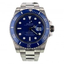 Rolex Submariner 116619blso Mens 2009 40 Mm