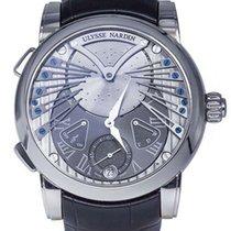 Ulysse Nardin Classic Stranger 18K White Gold Men's Watch