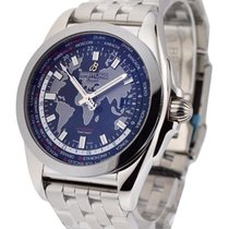 Breitling WB3510U4-BD94-375A Galactic Unitime Mens Automatic...