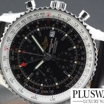 Breitling Navitimer world nuovo NEW  BLACK DIAL A2432212 B726