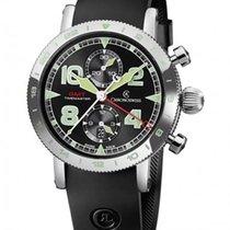 Chronoswiss Timemaster Chronograph GMT NEU mit B+P