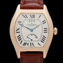 Cartier Tortue Privee Special Edition Power Reserve 18k Rose...