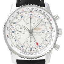 百年靈 (Breitling) Navitimer World Automatik Chronograph Silber