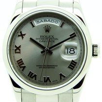 Rolex Day Date White Gold 118209