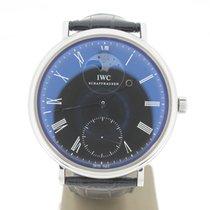 IWC Portofino Moonphase 46mm (B&P2013) Black Dial