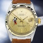 Rolex Oyster Datejust 1601 Mens Swiss Made Watch With Mickey...