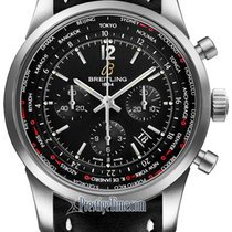 Breitling Transocean Chronograph Unitime Pilot ab0510u6/bc26-1lt